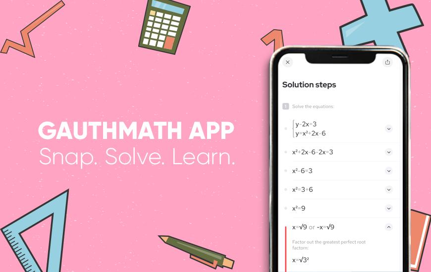 Gauthmath - A Free Online Math Problem Solver App