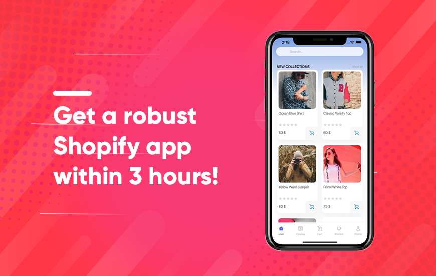 KUKApp - Build Shopify Store App Within 3 Hours