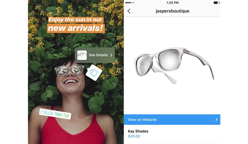 https://dk2dyle8k4h9a.cloudfront.net/Now Users\' Can Add Shopping Tags Directly Into Instagram Stories