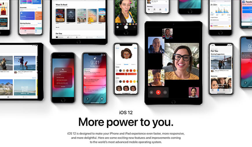 The Ultimate iOS 12 Guide : Release Date, New Features & Compatible Device List