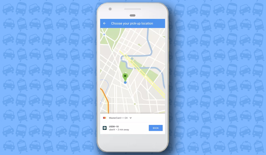 Uber Bookings no Longer Available on Google Maps