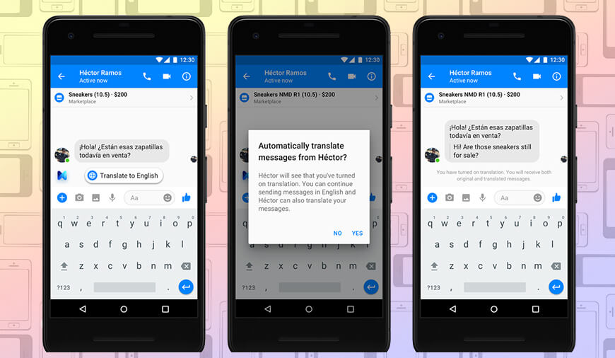 Facebook Brings In Auto-Translate In Messenger For English, Spanish