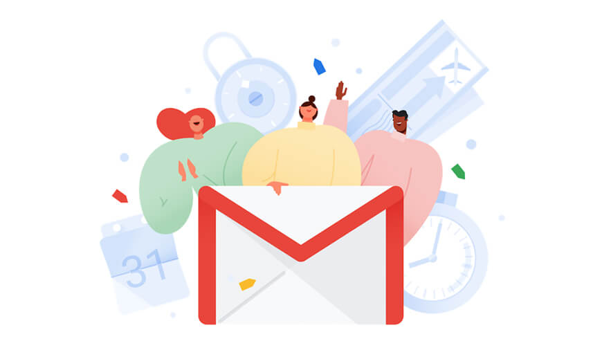 Google Gmail new Features