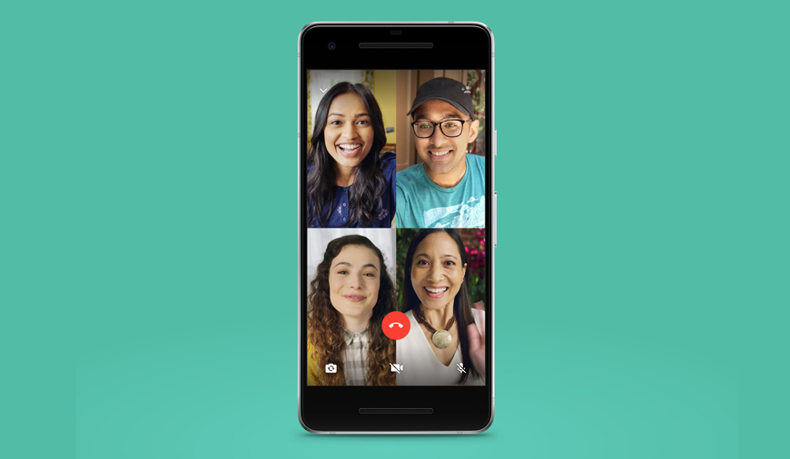 https://dk2dyle8k4h9a.cloudfront.net/WhatsApp Pushes Four-Person Group Video Calling Feature
