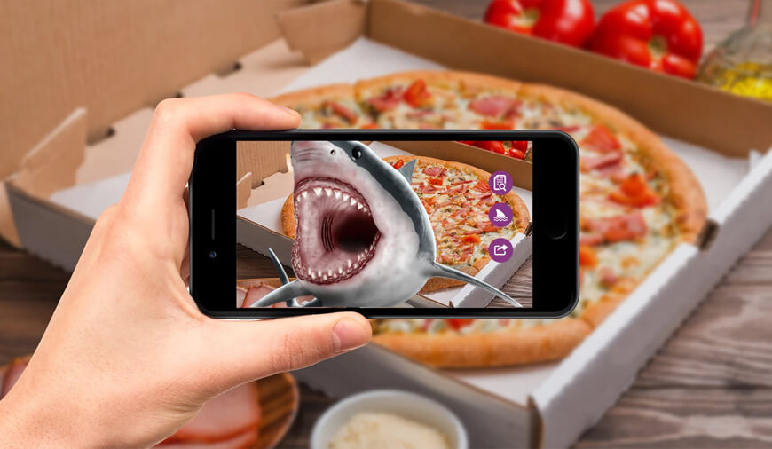 https://dk2dyle8k4h9a.cloudfront.net/Domino's Using Snapchat\'s AR lenses To Deliver Pizza