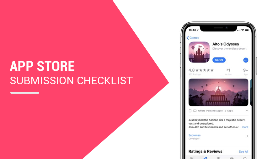 2018 Checklist Of Apple App Store Submissions That You Need To Know