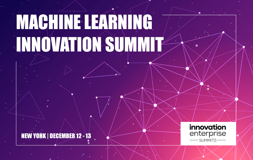 Machine Learning Innovation Summit New York 2018