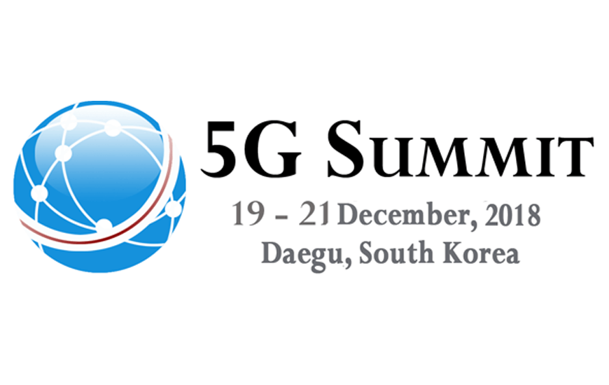 5G Summit 2018, South Korea: 5G Industry Event