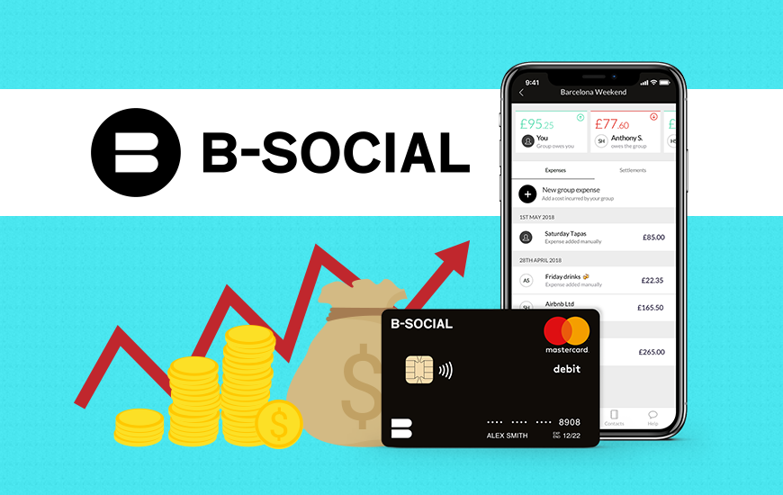 Fintech Start-up B-Social Raises £3.2 Million Investment
