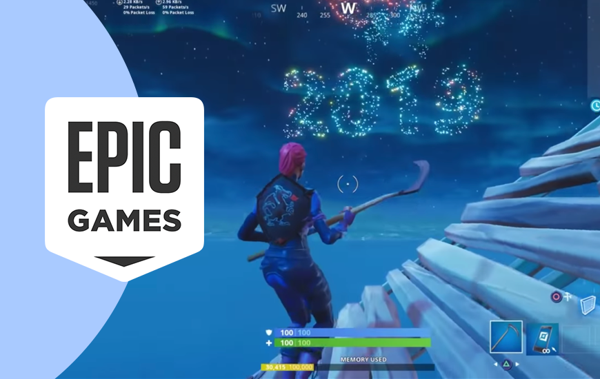 https://dk2dyle8k4h9a.cloudfront.net/Epic Games' Fortnite New Year Celebration Looks Groovy