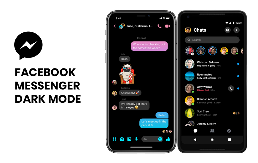 https://dk2dyle8k4h9a.cloudfront.net/Facebook Messenger's Dark Mode Feature In Testing Phase