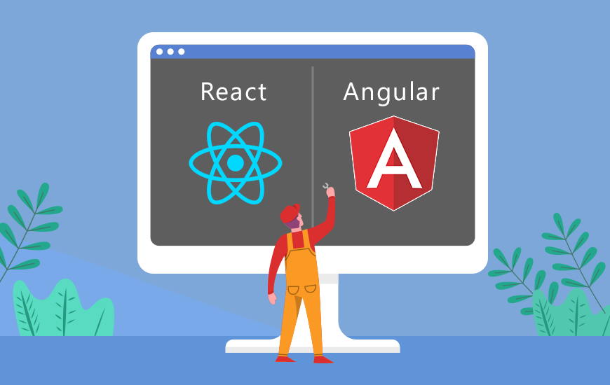 https://dk2dyle8k4h9a.cloudfront.net/React Vs Angular: Choose The Best Tool For Your Next App