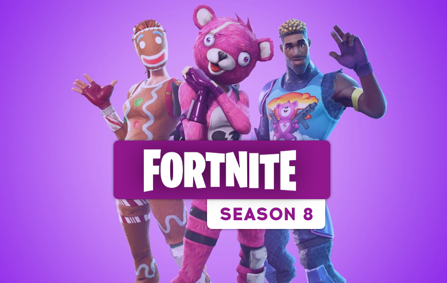 Fortnite Season 8 Begins and Battle Pass Will Cost 950 V-Bucks