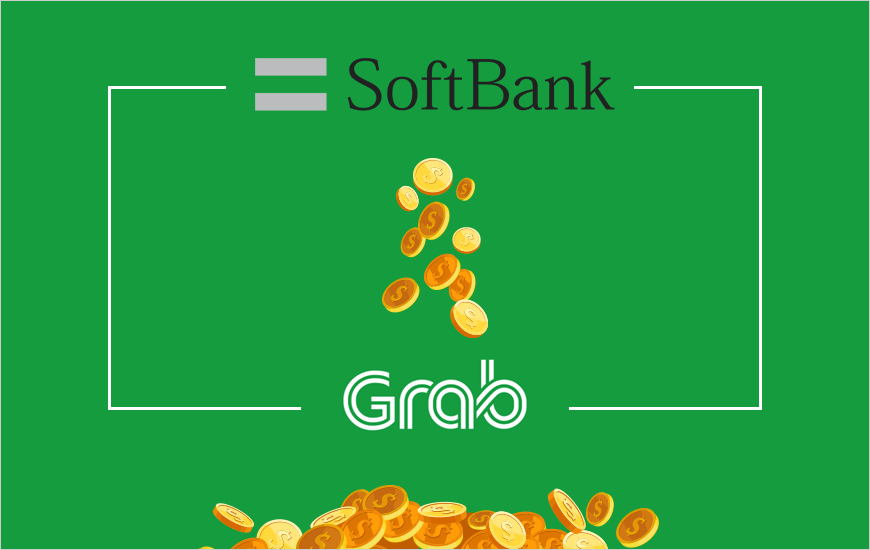 Grab Raises $1.46B From Softbank, Boosts Its Valuation To $14B