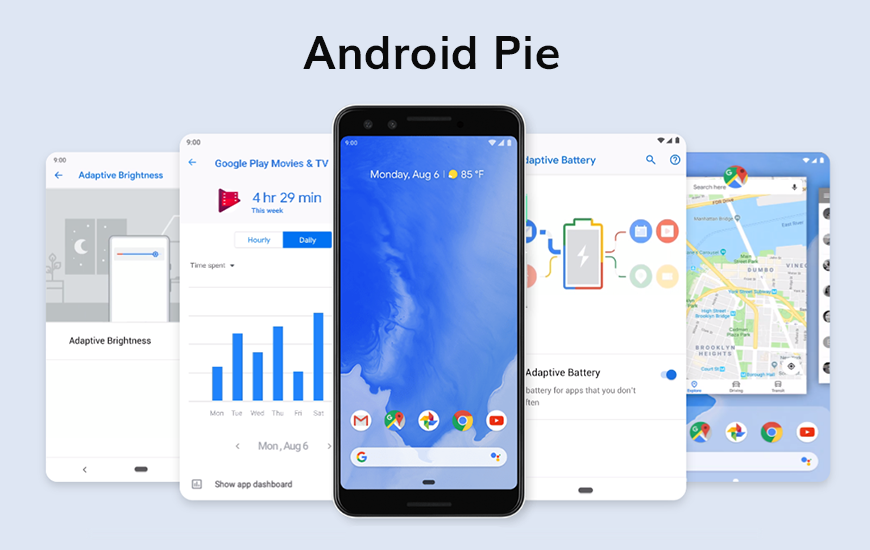 Android 9 Pie Update Features And Compatible Devices