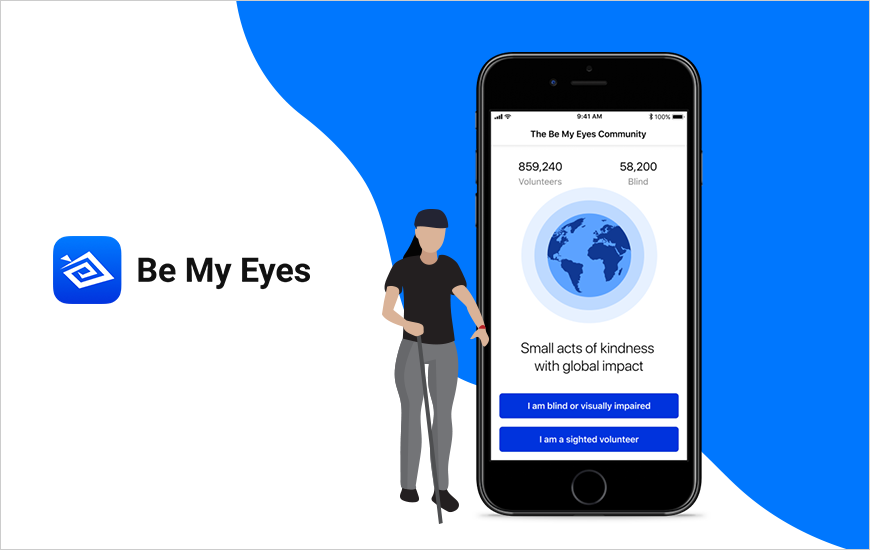 Google's Be My Eyes App Adds Live Phone Help Feature