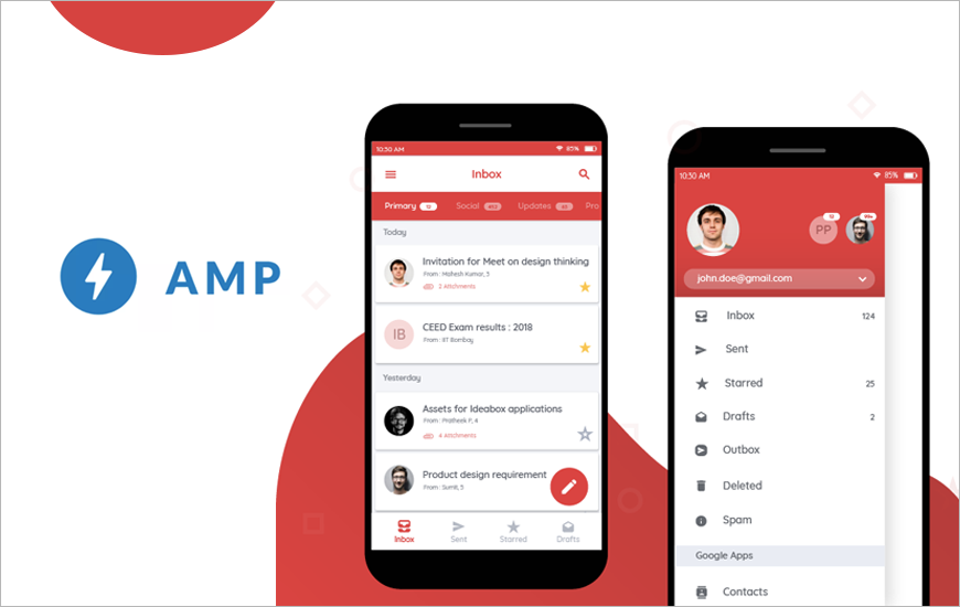 Google Releases AMP For Gmail, Now Turns Static Emails Into Dynamic