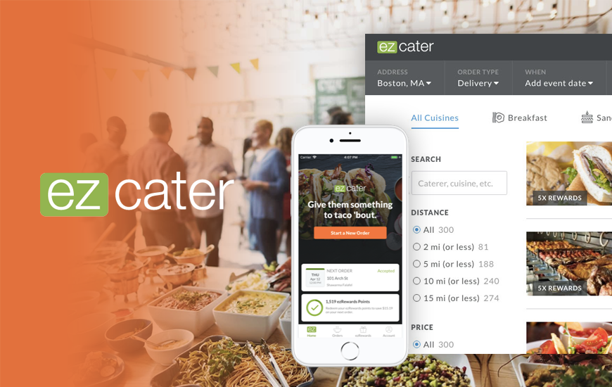 Online Catering Marketplace ezCater Raises $150M At $1.25B Valuation