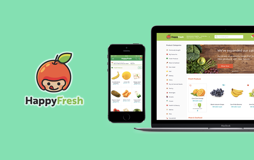 Grocery Delivery Startup, HappyFresh Raises $20M And Aims To Expand In SE Asia
