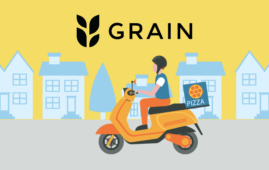 Food Delivery App, Grain Bags $10M To Become A Profitable Cloud Restaurant