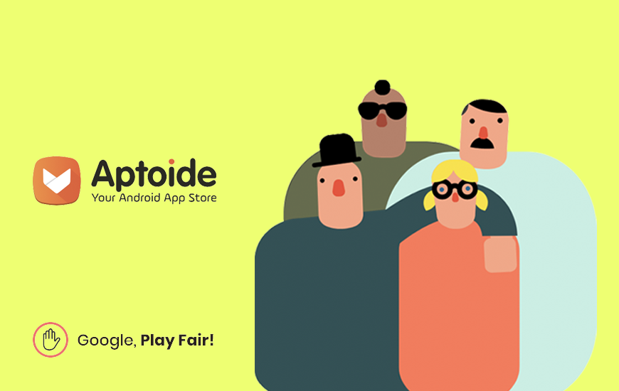Aptoide, A Play Store Competitor, Rebels Against Google Hiding Its App
