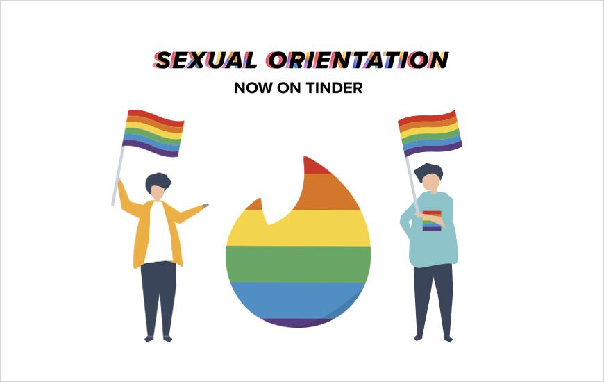 Tinder جهت گیری جنسی را آغاز می کند