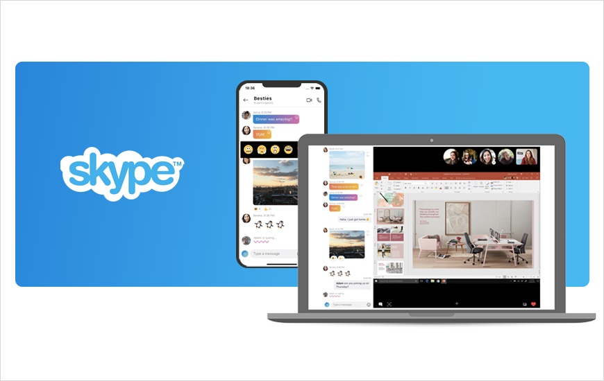 Skype Mobile Screen Sharing