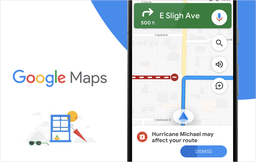 Google Maps Adds New Feature To Help Get Natural Disasters Forecasts