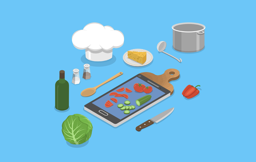 Cooking Apps for Android and iPhone