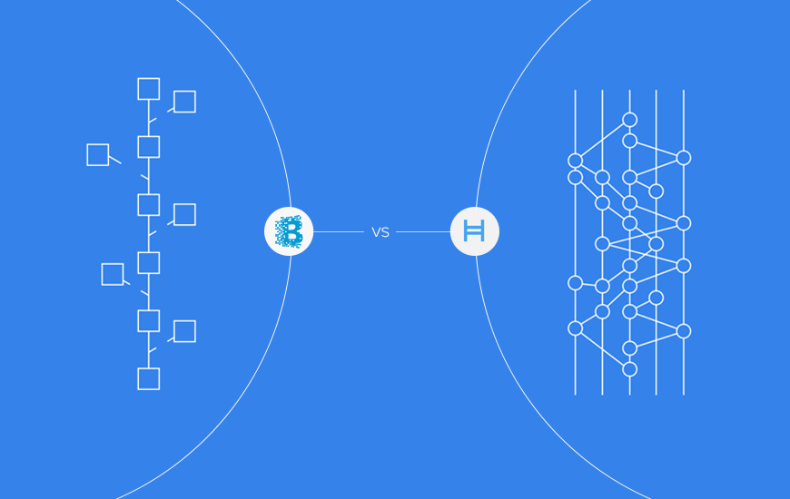 Hashgraph and Blockchain war
