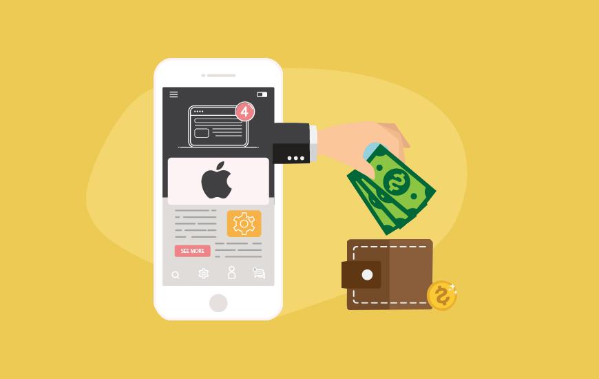 Apple makes money
