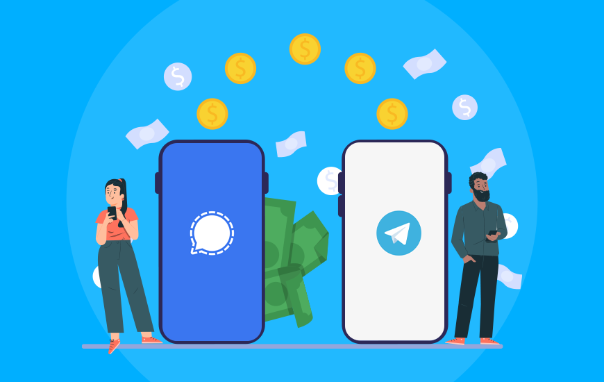 How Much Does It Cost to Develop a Chat App Like Signal or Telegram in 2021?