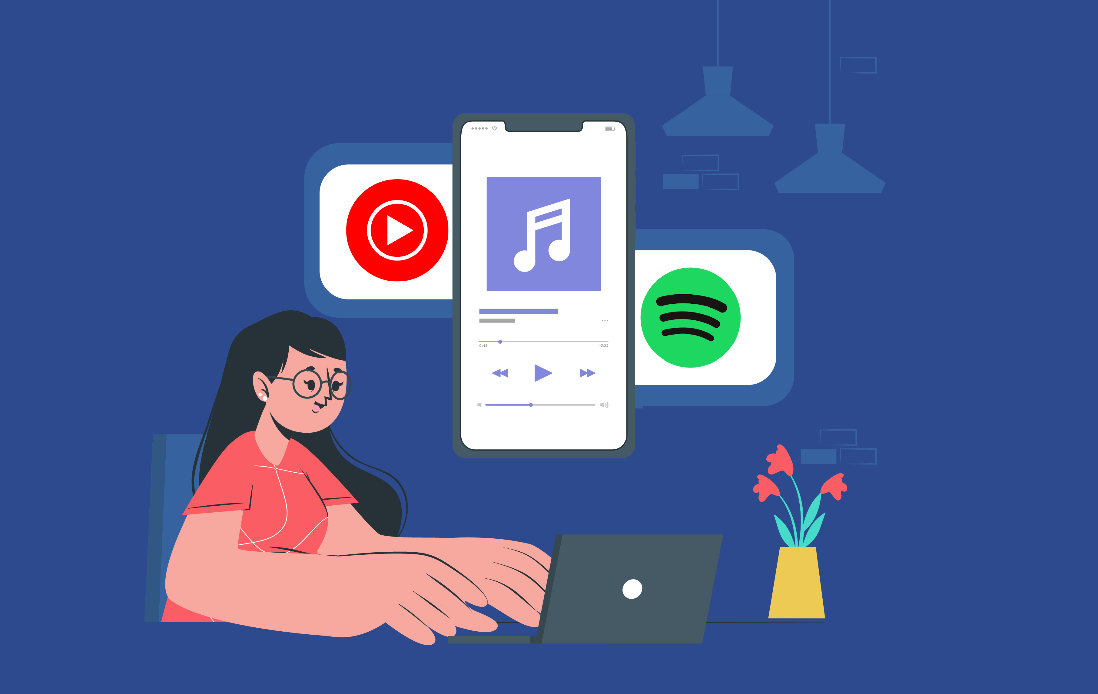 YouTube Music vs Spotify- A Battle of Top Music Streaming Apps