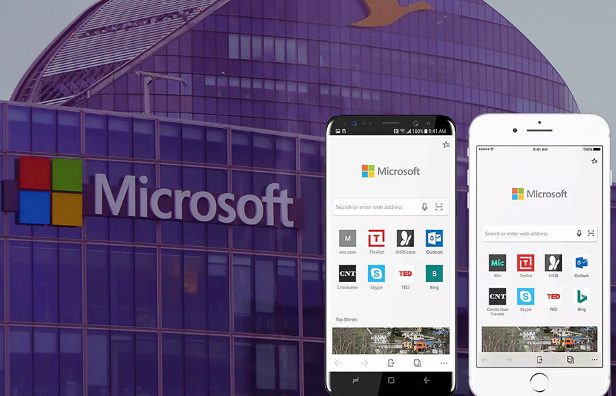 Microsoft Edge Arrives For Android And iOS Users