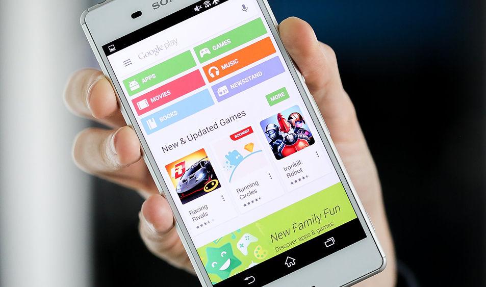 Google Testing New Play Store UI